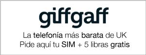 Consigue una SIM gratis de giffgaff
