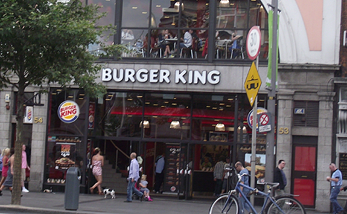 Burger King de Dublin