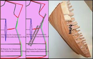 Comparación manga casquillo japonesa y casco de barco
