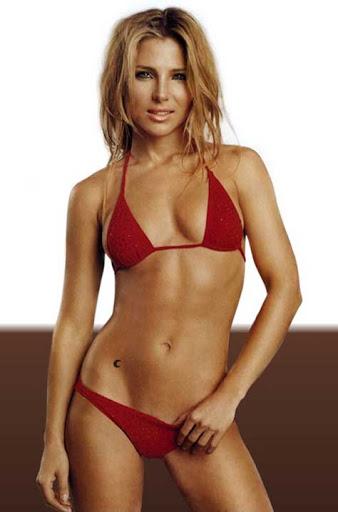 Elsa Pataky mini bikini rojo
