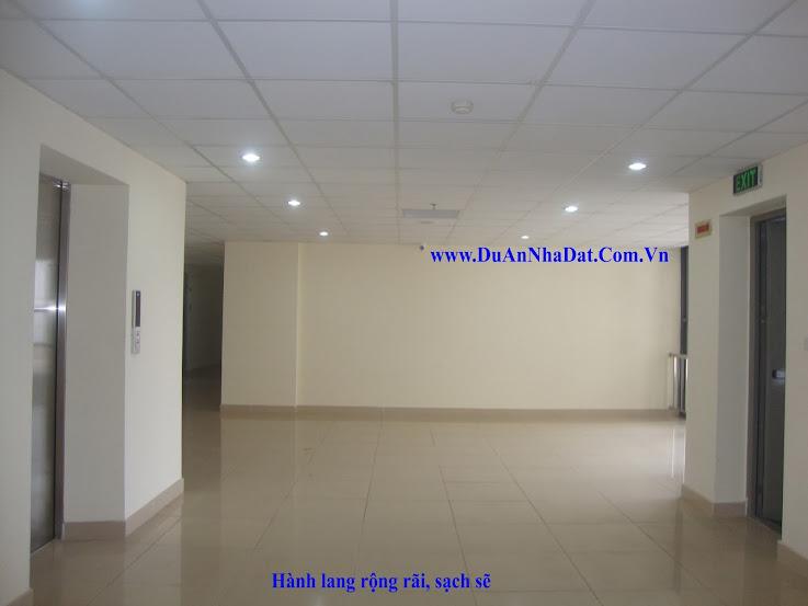 hành lang trên các tầng CT8