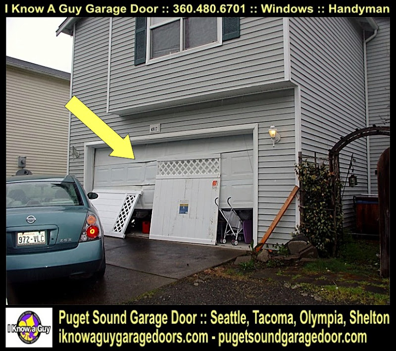 Garage door forest city wa gdor seattle tacoma olympia for Garage door repair tacoma