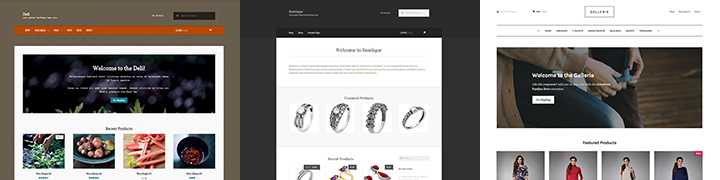 WooThemes Storefront Child Themes