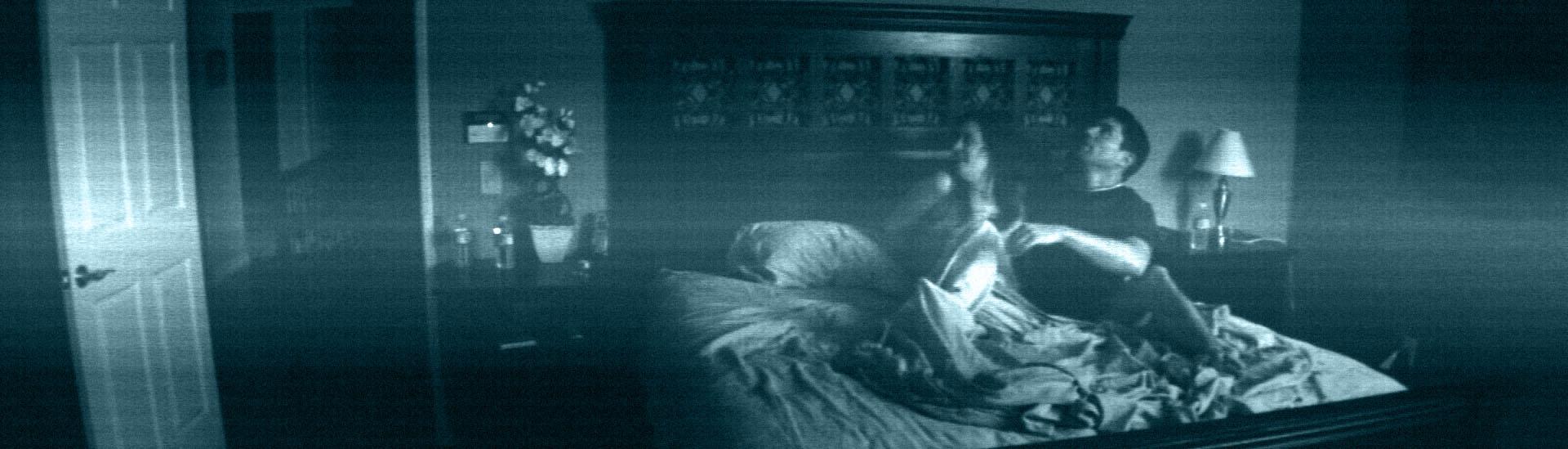 Baner filmu 'Paranormal Activity'