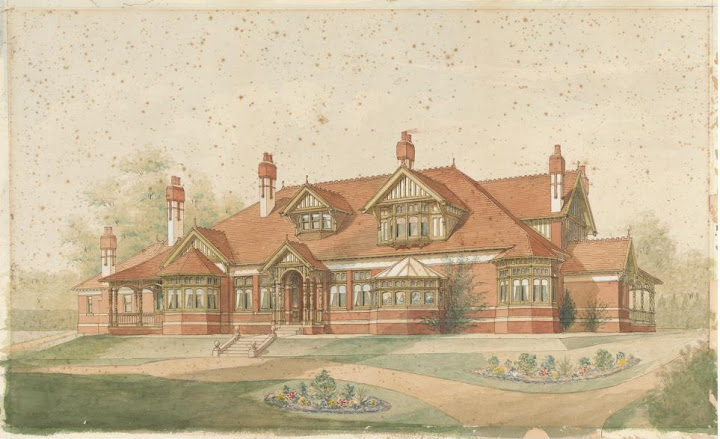 State Library sketch by Kemp