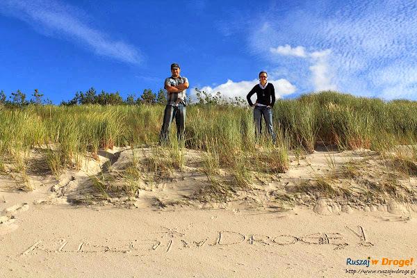 Ruszaj w Drogę na plaży w Czołpinie