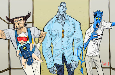 The Hangover vs. X-Men
