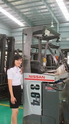 Reach Truck Nissan