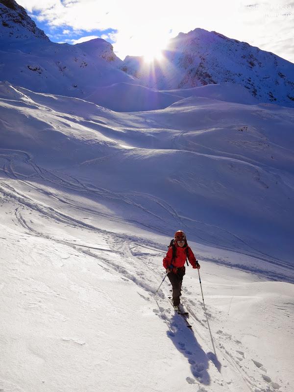 2013.12.1 - Fagaras - Primul schi pe V Doamnei
