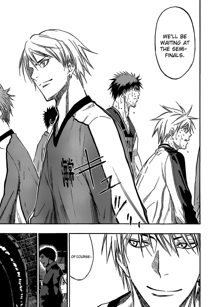 Kuroko no Basket Manga Chapter 169 - Image 13