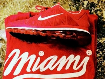 news air max 2011 lebron james red 2 LeBron James Latest Personalized Nike Air Max 2011 PE