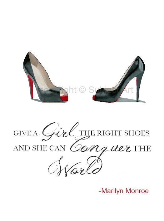 Marilyn Monroe Sayings And Pictures High Heel Shoes