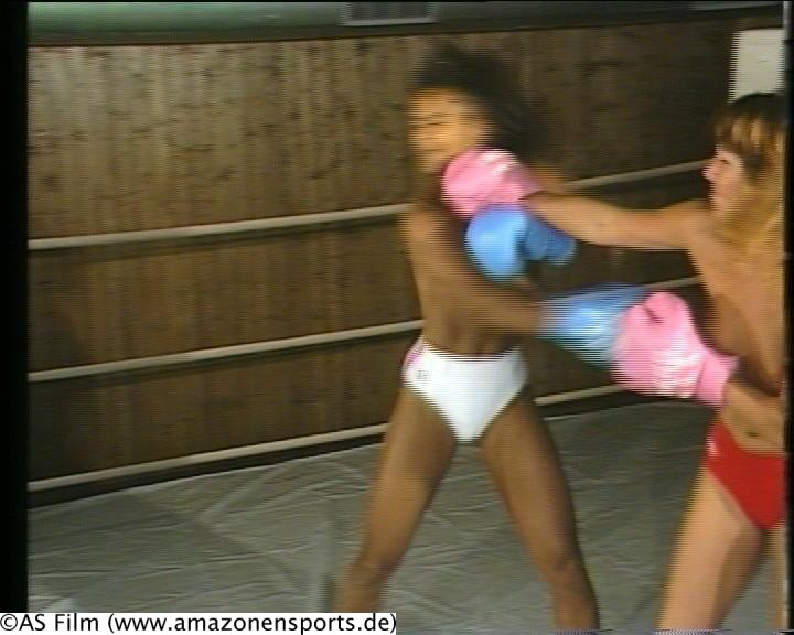 Word honour. interracial girl fights