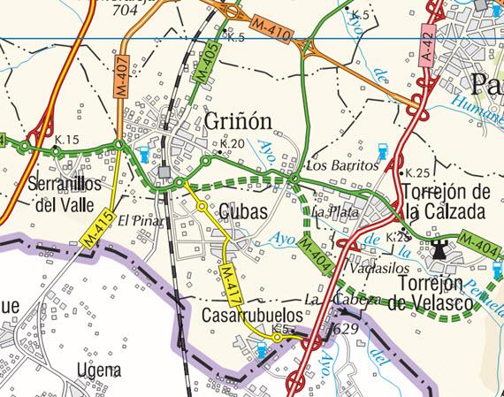 Se asfaltará un tramo de 8,5 kilómetros en la M-404