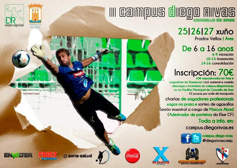 II Campus de Porteiros Diego Rivas - Ares 2014.