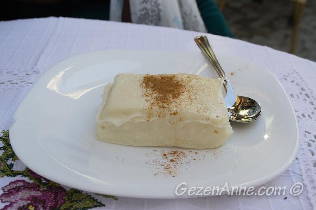 sakız tatlısı, İmren Alaçatı Çeşme İzmir