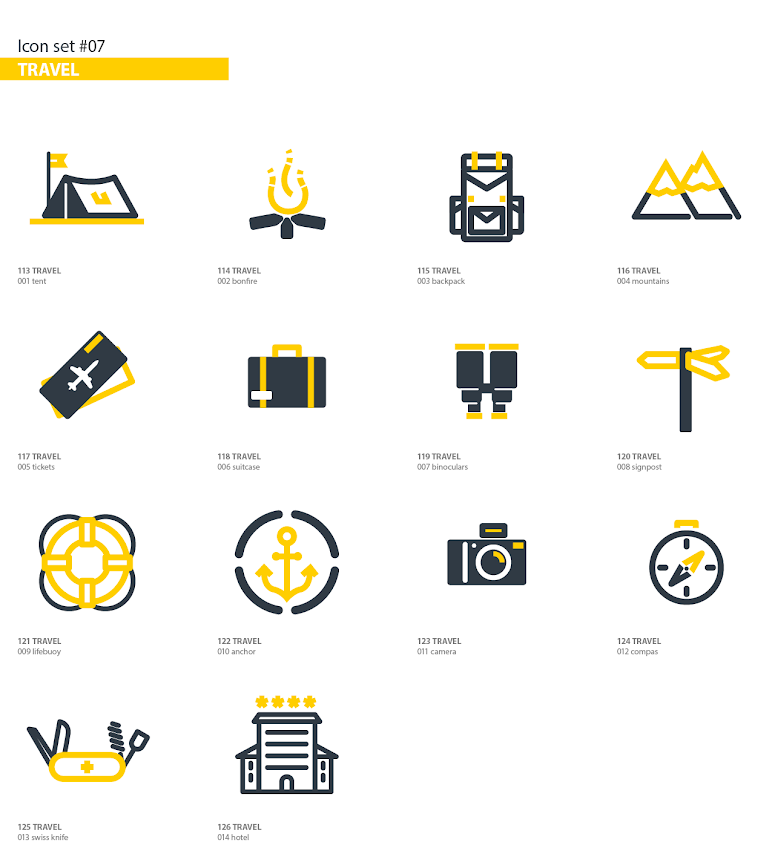 Animated Icons Pack - 7