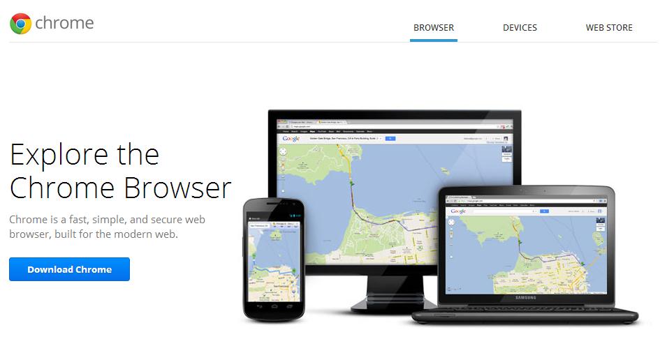 browser turunan