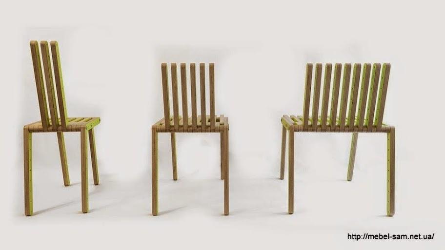 Сборные стулья из фанерных деталей