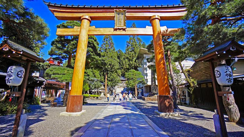 飛騨高山 櫻山八幡宮 写真2