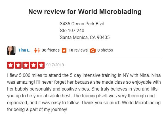 Microblading Training Review
