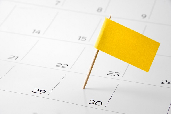 Consult your calendar for other important events that could affect your child's SAT score