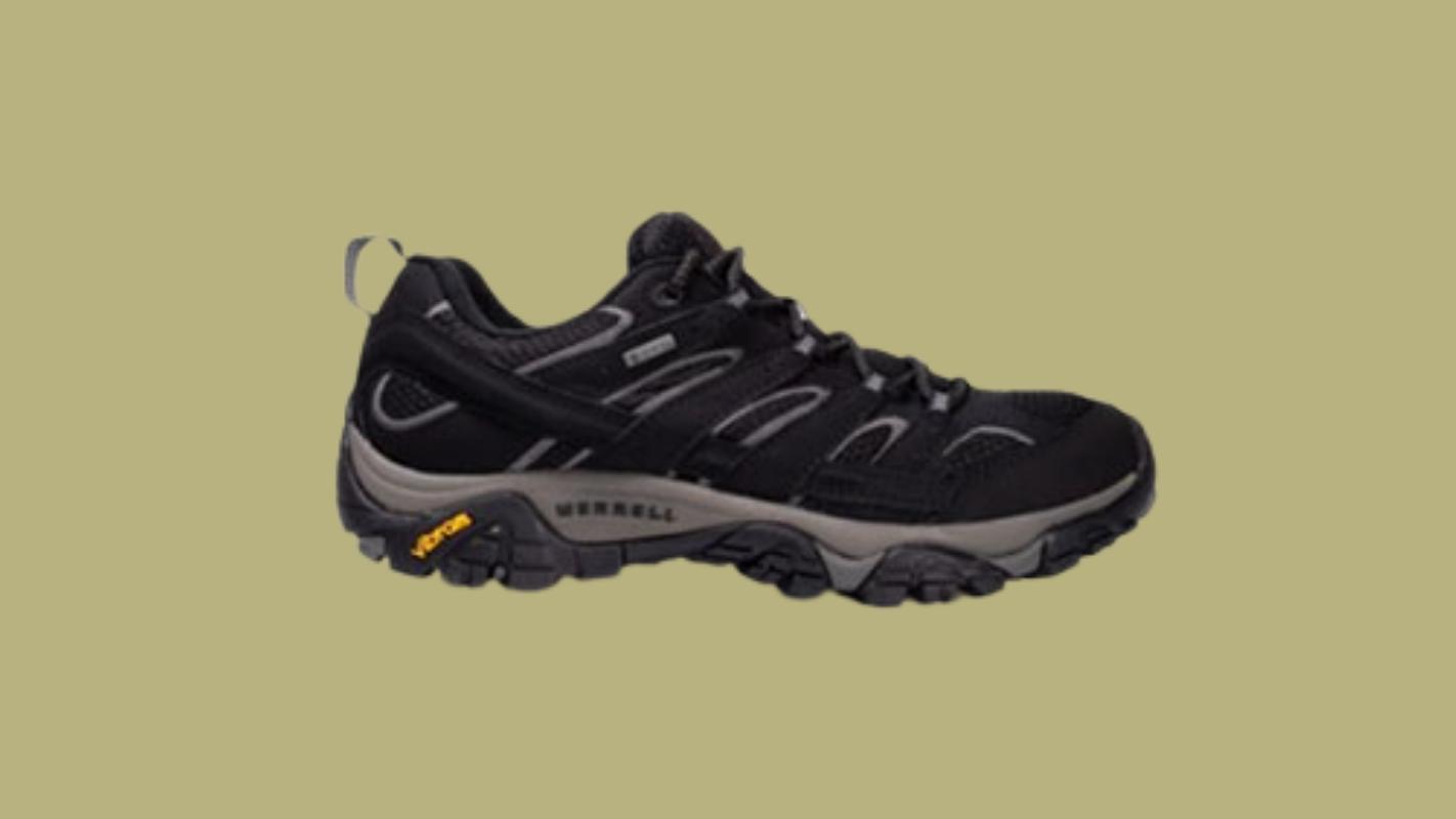 9. MERRELL MERRELL Moab 2 GORE-TEX รองเท้าเดินป่าผู้ชาย