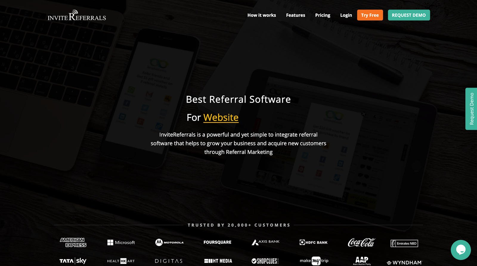 IMAGE REFERRAL MARKETING SOFTWARE