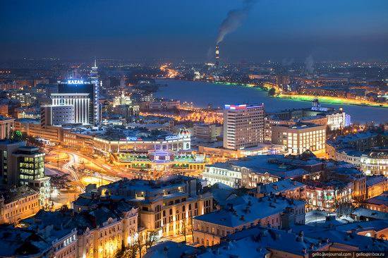 Winter in Kazan, Russia - the view from above, photo 10