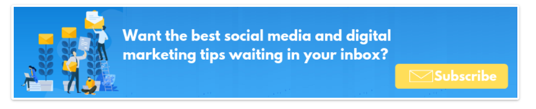 a banner example used to collect more leads and automate marketing processes to them.