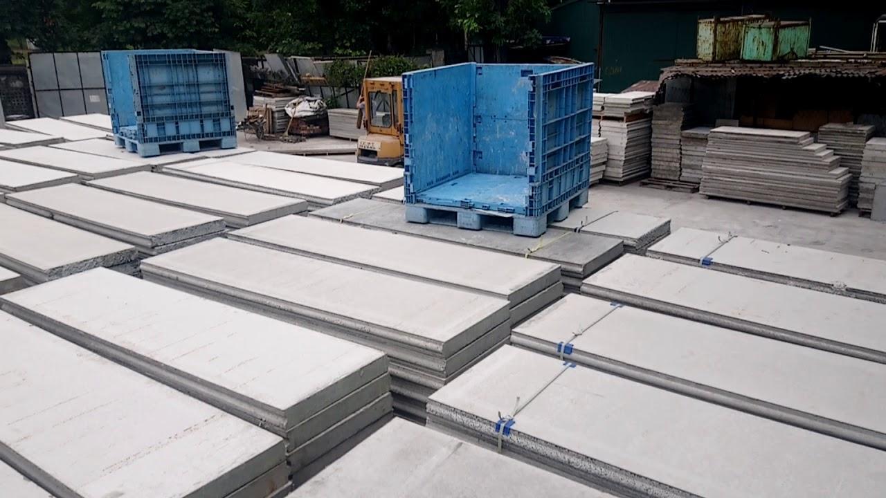 Tấm sàn Panel bê tông xốp EPS chất lượng