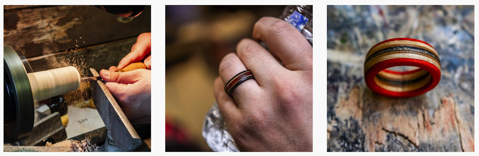 Aviary ring Co | Hand-turned wooden rings | Jewelry Brands Featured on Afluencer