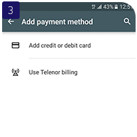 Telenor Cashback Google Play