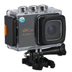 """4. กล้องแอ็คชั่นแคม มีระบบกันสั่นล่าสุด กล้องติดหมวก 2.0"""" LCD 4K ราคา 1,390 บาท"""