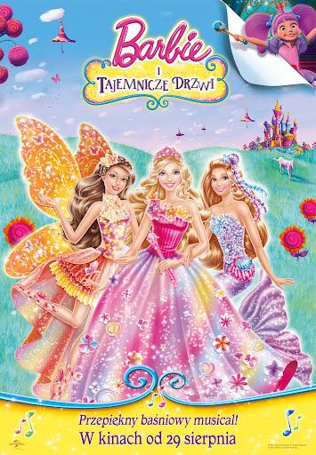 Polski plakat filmu 'Barbie i Tajemnicze Drzwi'