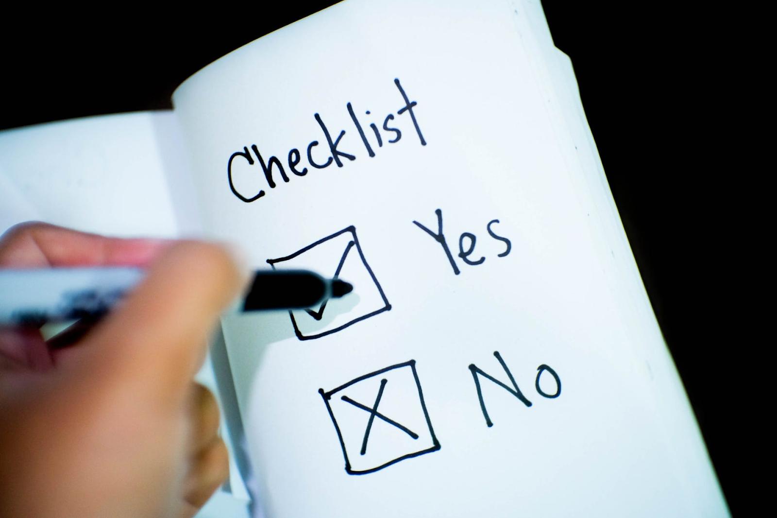 digital marketing strategies-checklist