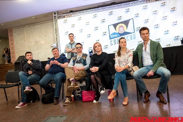 Kyiv Comic Con, Сергей Ковальчук, Катерина Брайковская, Ростислав Семкив, Юлия Перенчук, Александр Шевчук