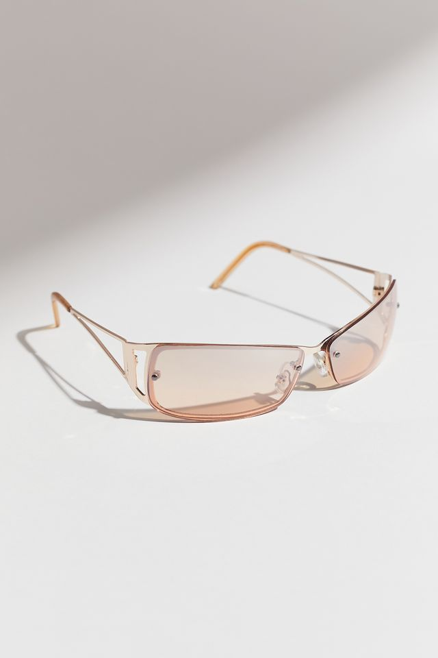 Urban Outfitters Evie Metal Shield Sunglasses