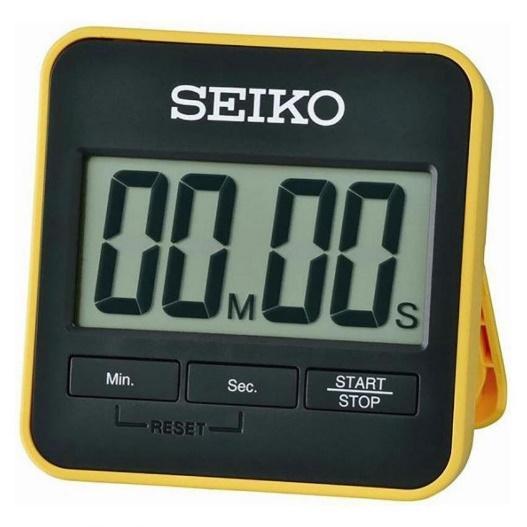 SEIKO DIGITAL TIMER นาฬิกาจับเวลาถอยหลังพร้อมขาตั้ง รุ่น QHY001Y | Shopee  Thailand