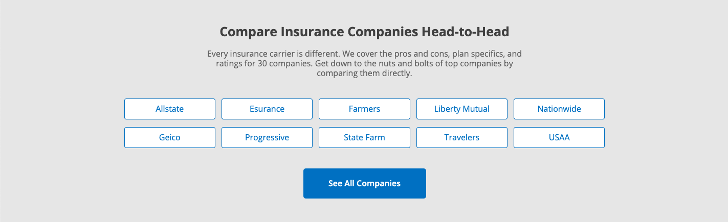 Best Car Insurance Companies Of 2019