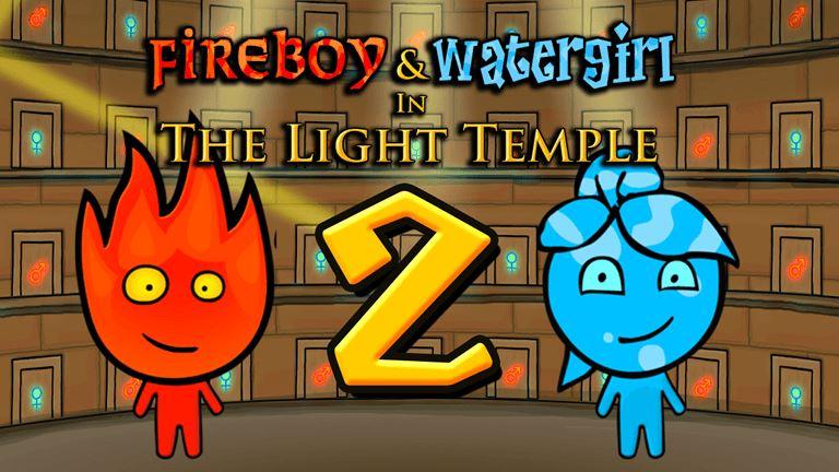 เกมน้ำกับไฟ ภาค 2 : Fireboy and Watergirl 2 In The Light Temple