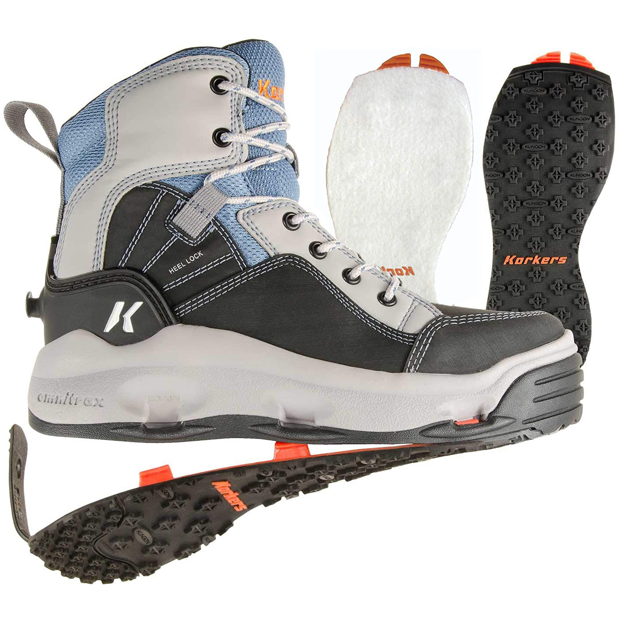 Korkers Women's Wading Boots for fly fishing