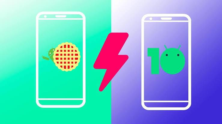 What is the difference between android 10 and android 9