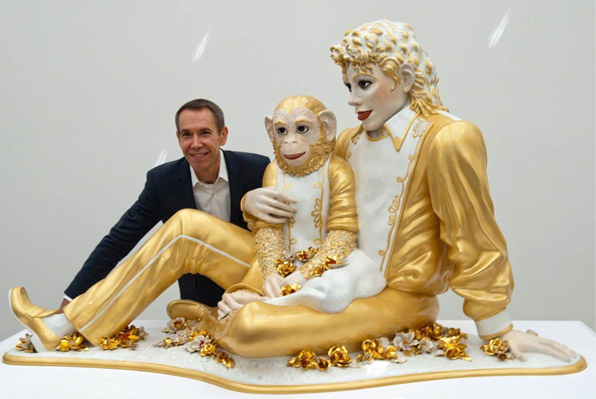 Jeff Koons (With images) | Jeff koons, Lovers art, Michael jackson ...