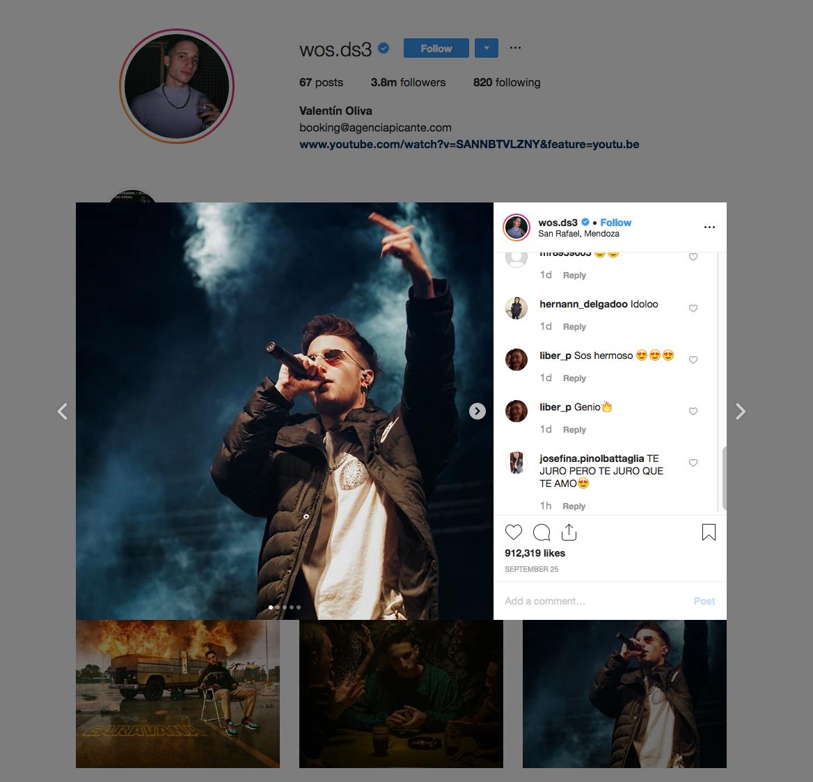 Valentin Oliva | Influencer Rockstar