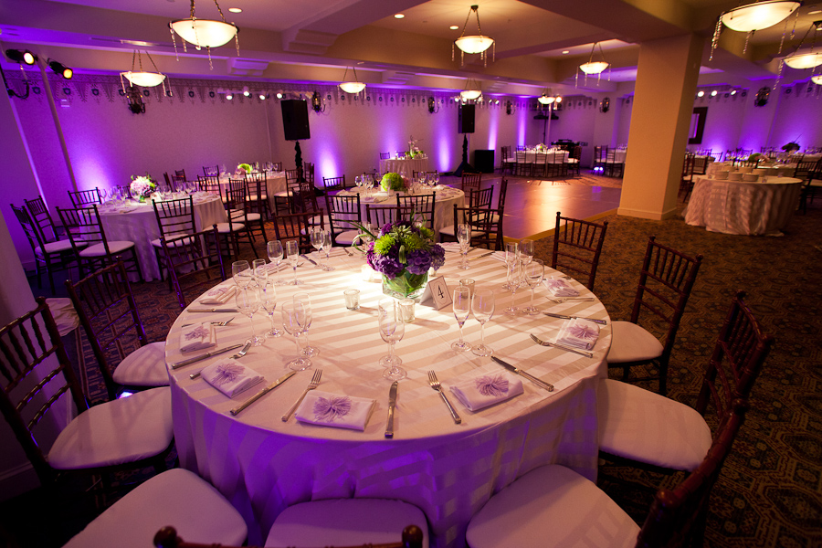 Purple Lime Green And Ivory Wedding Decor
