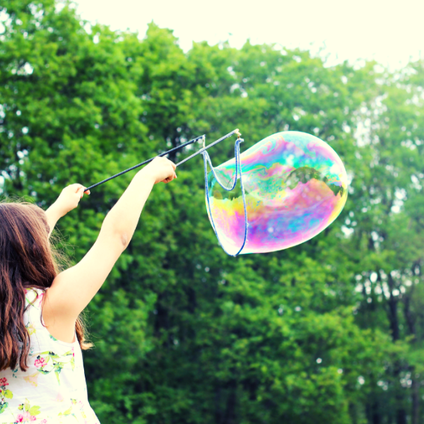 Have fun with bubbles this summer!