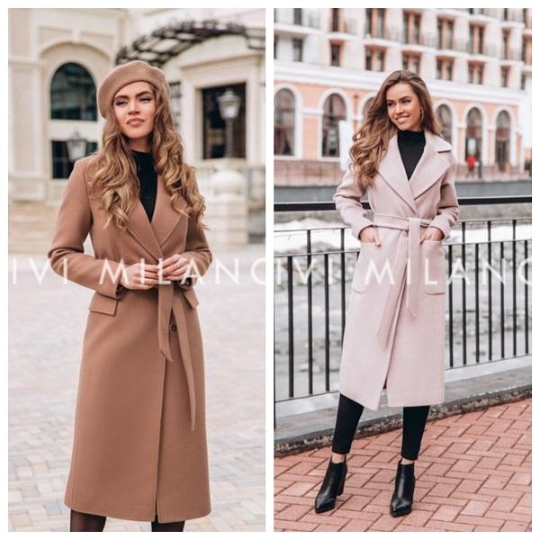 Красивые женские пальто итальянского качества