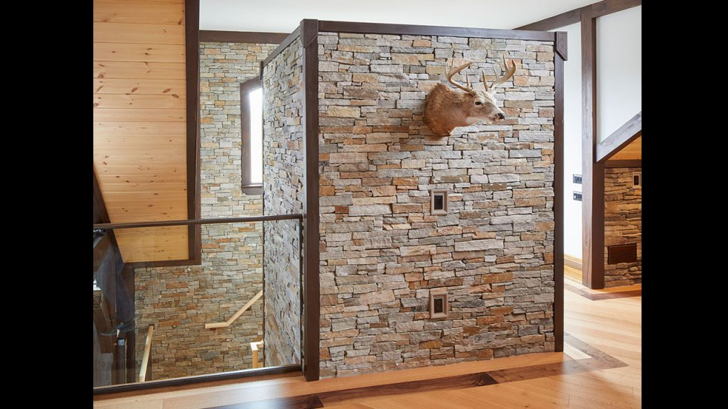 One Of The Misconceptions Of Natural Stone Is That Itu0027s Only Marble Or Only  Single Colored Stones. This Slate Stacked Stone Veneer, However, ...
