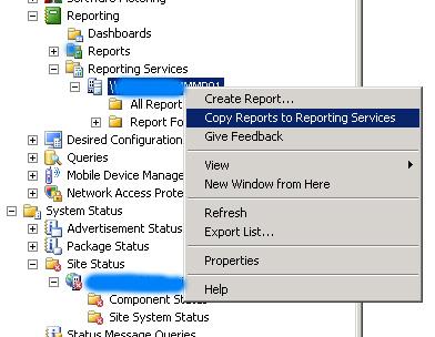 Repairing SCCM SRS root folder
